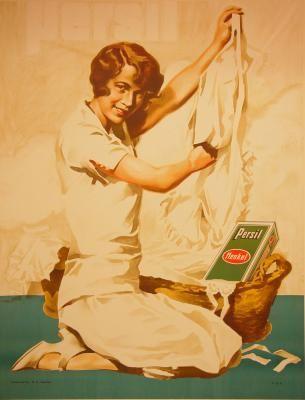 1932 Persil Henkel, Germany vintage advert poster