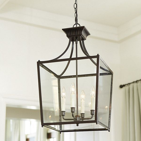 Farmhouse Entryway Chandelier: Wrought Iron Foyer Chandelier With Candles