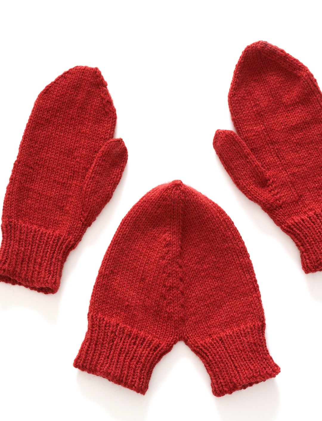 Courting Mittens from Yarnspirations.com - Patons Valentine Mittens ...