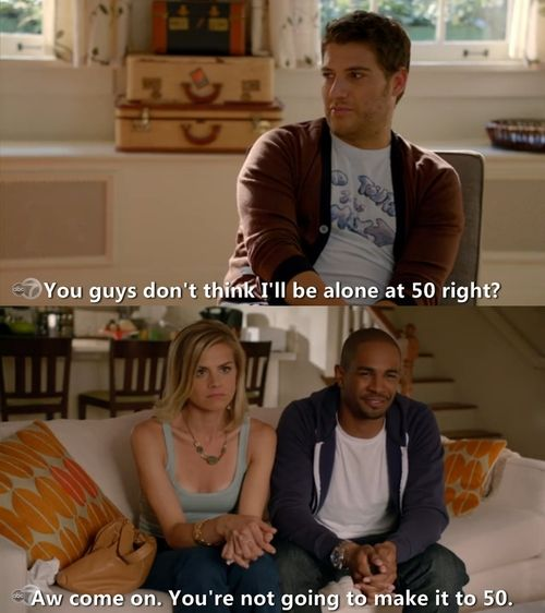 happy endings character breakdown Despite only airing on abc for three seasons, happy endings had an avid  fanbase that really wanted the show to make a comeback on.