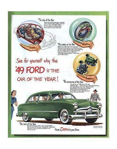 1949 Ford – … Car of the Year Premium Giclee Print by | Art.com