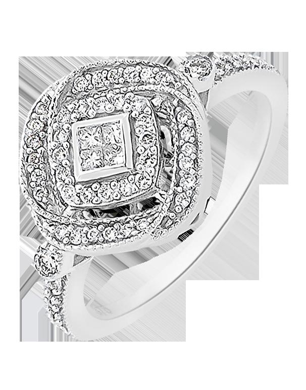 Diamond Ring White Gold Diamond Ring Salera s