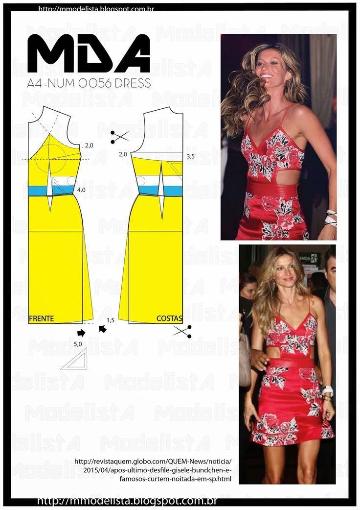 ModelistA: A4 NUM 0056 DRESS | sagar modi | Pinterest | Vestidos ...
