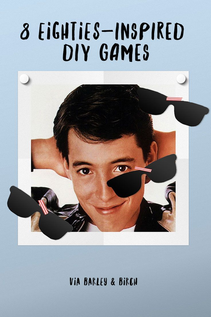 Discover 8 eightiesthemed diy games throwback party