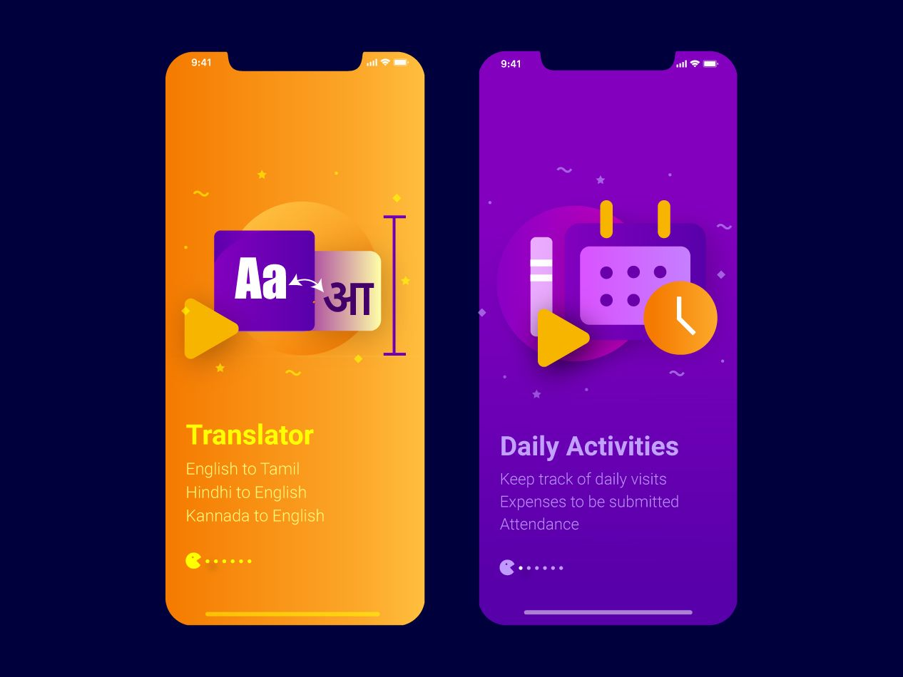 Translator And Daily Activities Mobile App Mobile App App