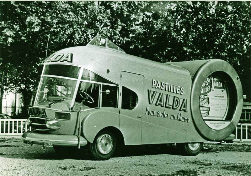 Built For The 1953 Tour De France This Vehicle On A Renault Base