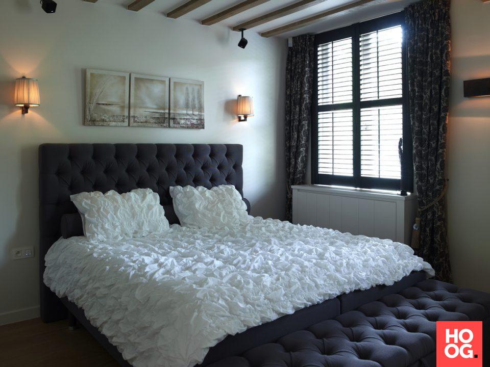 Slaapkamer design met luxe bed slaapkamer inspiratie bedroom