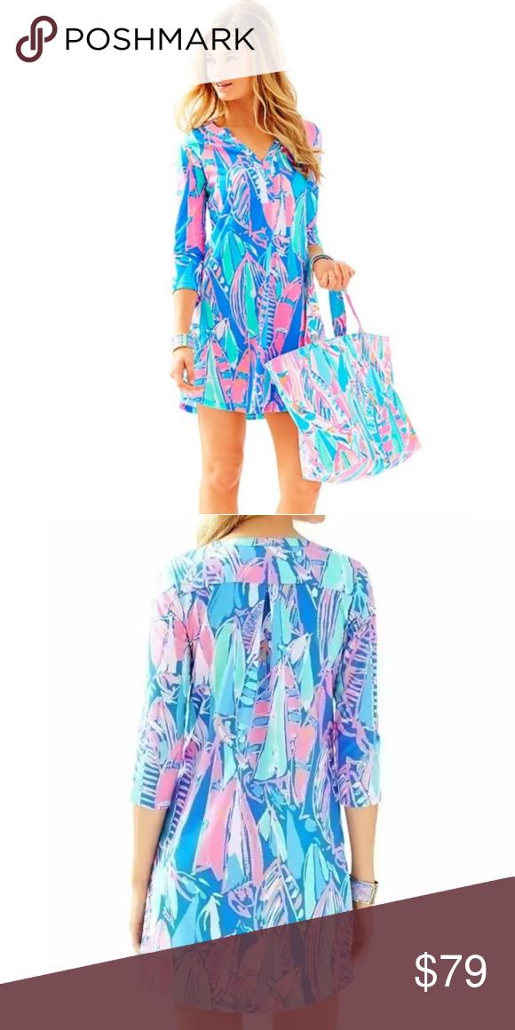 47ed4d66427a36 Lilly Pulitzer - Ali Dress BAY BLUE OUT OT SEA - NWOT Lilly Pulitzer Dresses  Mini