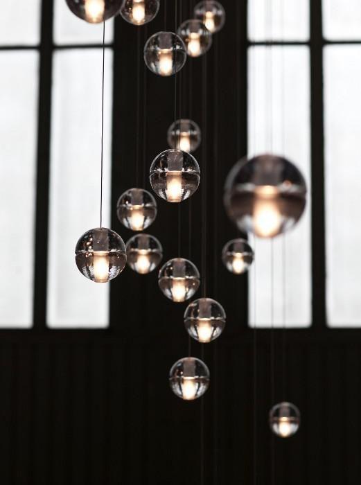 Suspensions Bocci Serie 14 Boule de verre