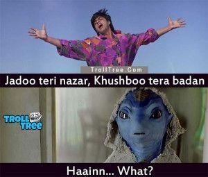Bollywood Actors Shahrukh Khan Funny Trolls at TrollTree.Com - Trolltree