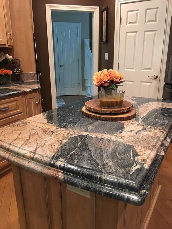 Black Orchid Granite Countertops Custom Floor Luxury Vinyl Tile