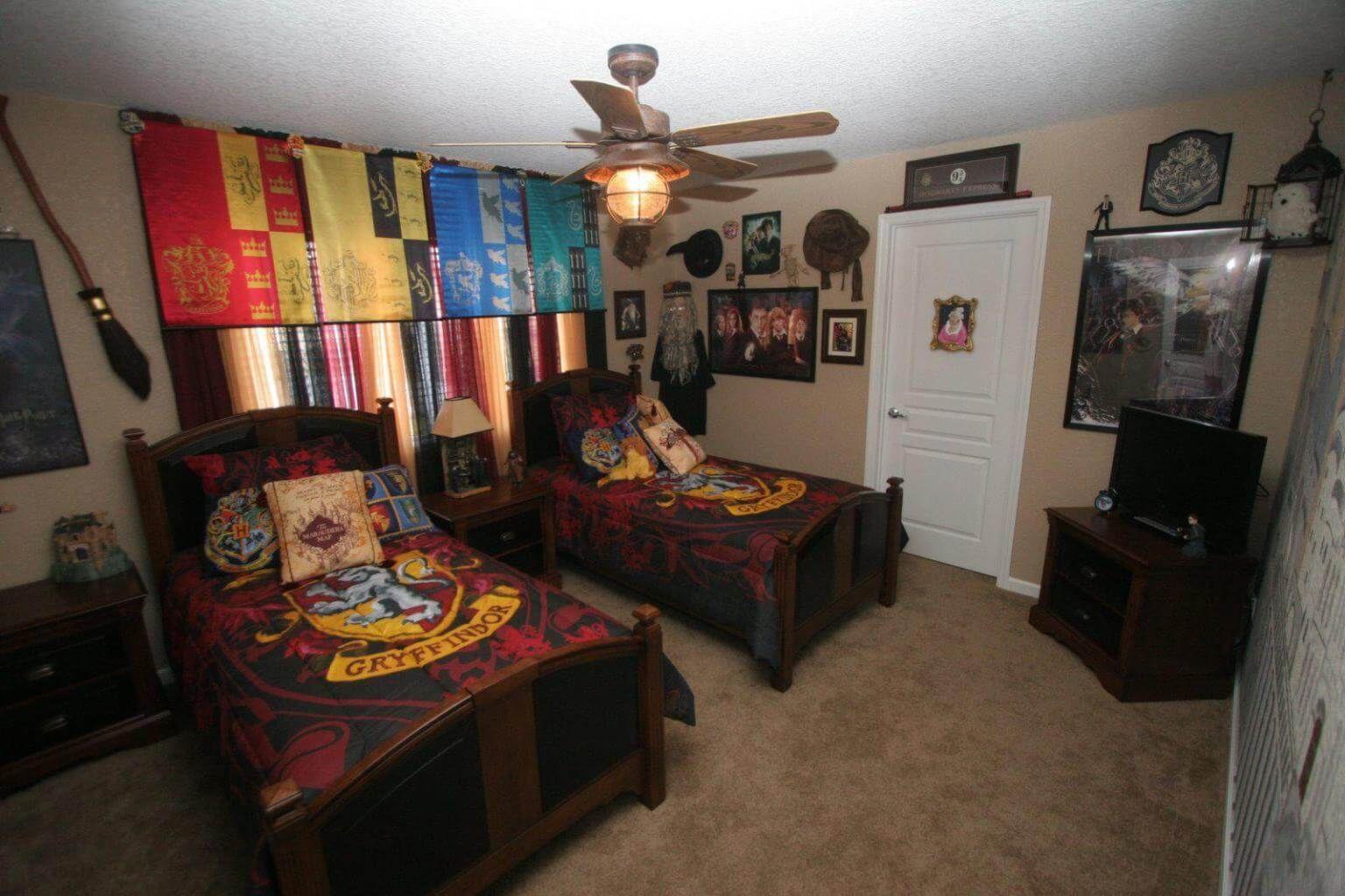 10 Bedroom Tv Stand Ideas 2021 Happy And Homey Harry Potter Room Decor Harry Potter Bedroom Harry Potter Bedroom Decor