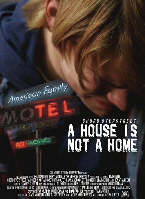 Glee Movie Poster A House Is Not A Home Sam Evans Glee Sam