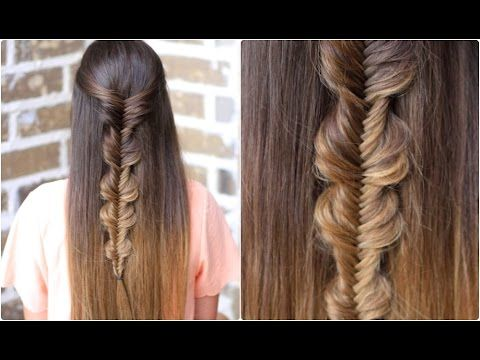 Youtube Hairstyles Simple Noband Bubble Fishtail  Cute Girls Hairstyles  Youtube Super