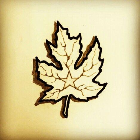 Tattoo sketch - Canadian American by - Ranz