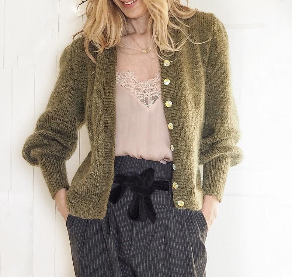 Audrey Jakke   Crafty Knitting   Sy genser