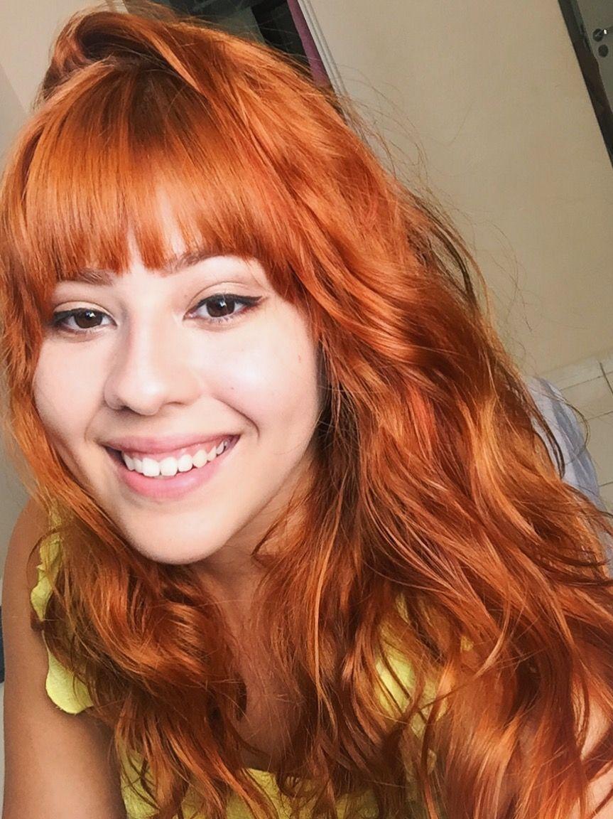 Coloration cheveux devient roux