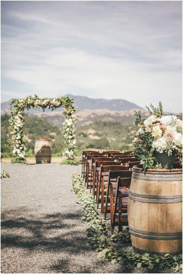 Sonoma Rustic Blush Pink Wedding At Chalk Hill Estate Winery Edyta Szyszlo Product Wedding Photograp Outdoor Wedding Outdoor Ceremony Rustic Wedding Decor