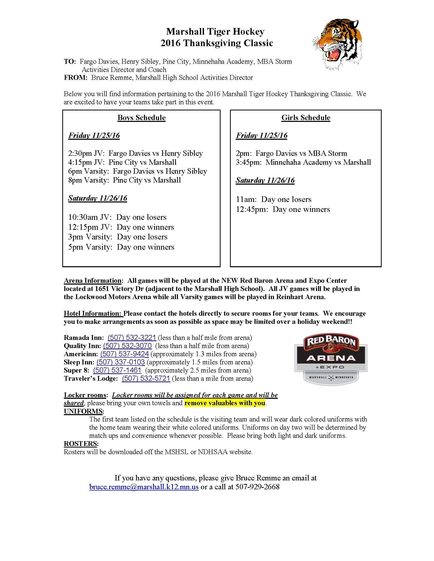 Wel e 2017 Marshall Hoops Tournament