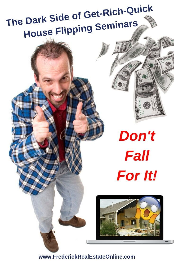 Don T Fall For The Scam Flipping Houses Really Works But These Seminar People Are Rip Off Artists