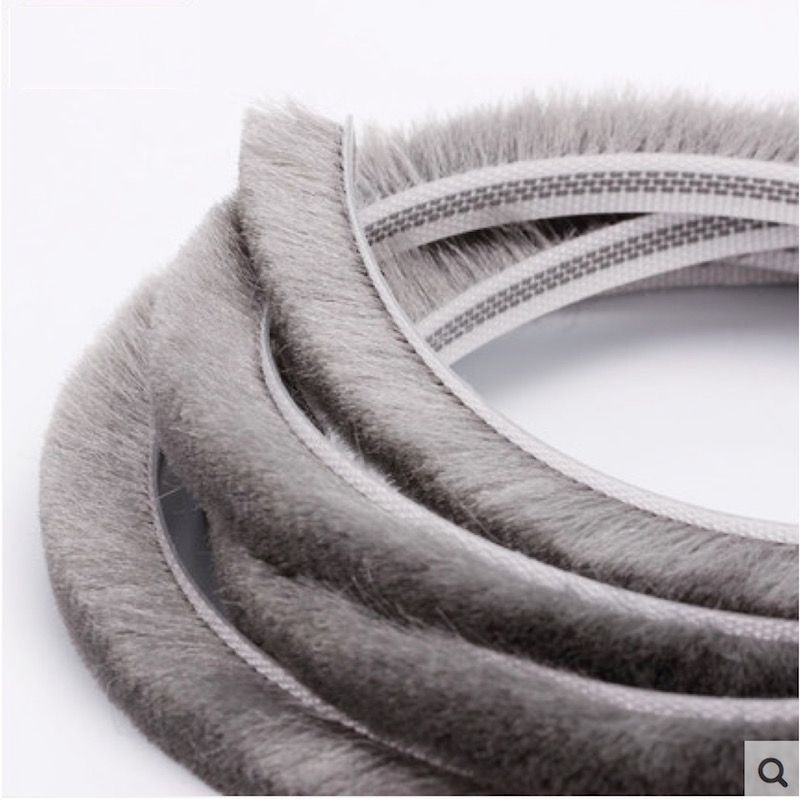 Felt Draught Excluder Wool Pile Weatherstrip Gasket Insert Sliding Sash Screen Window Door Brush Seal 6mm Weather Stripping Windows And Doors Draught Excluder