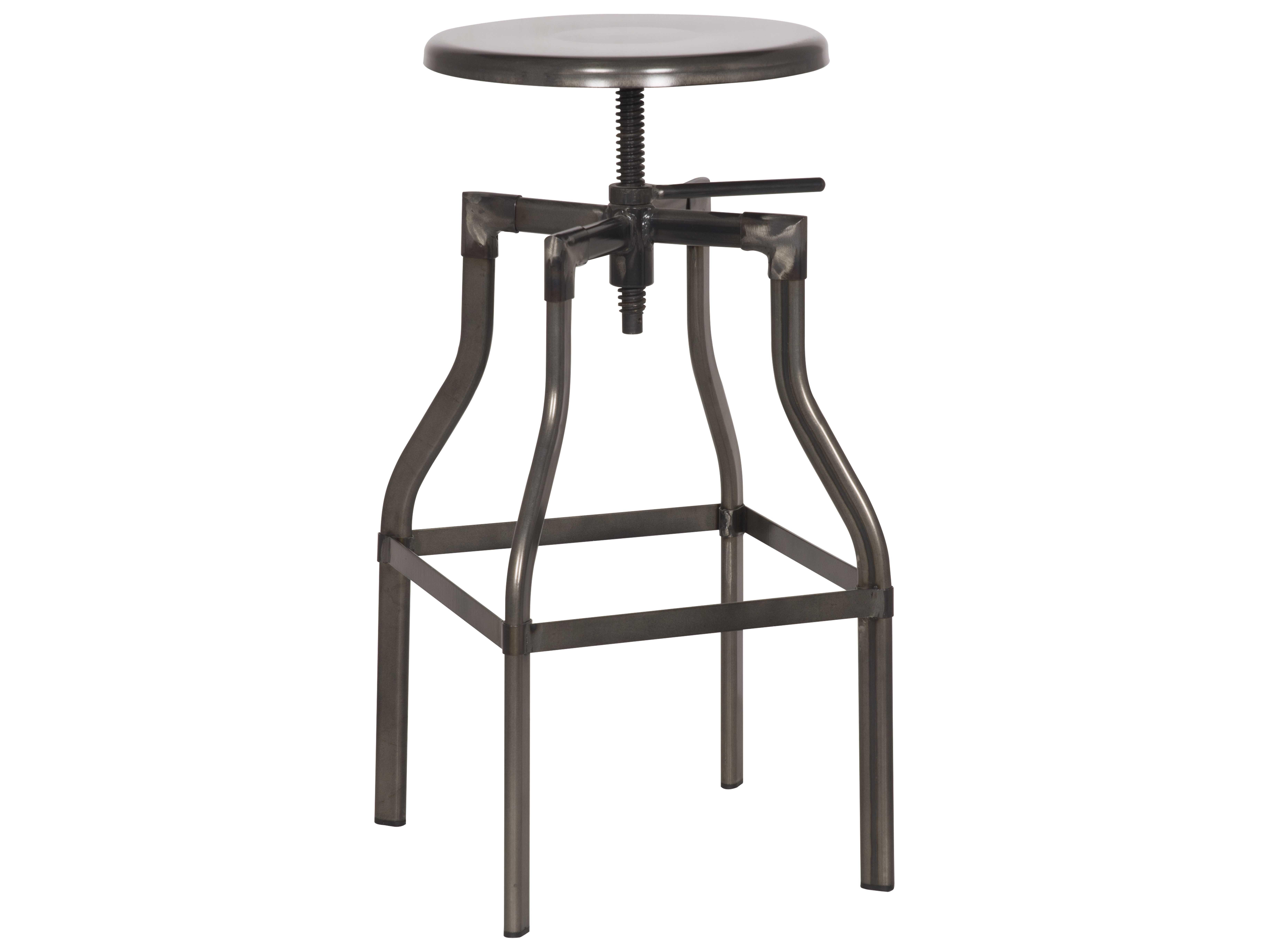 Moeus home collection thomas steel adjustable stool mark bean