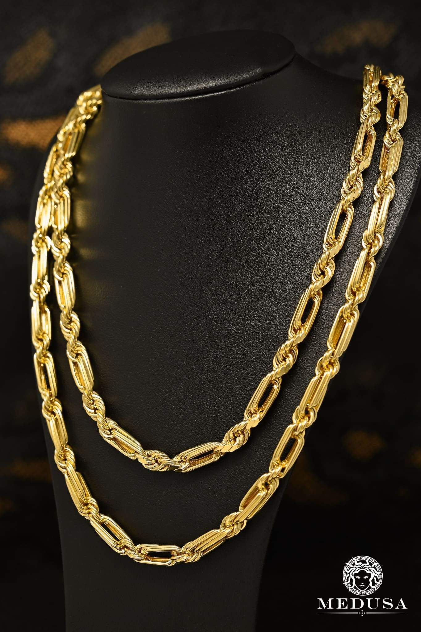 7mm Torsade Milano In 2020 Gold Chain Design Gold Jewelry