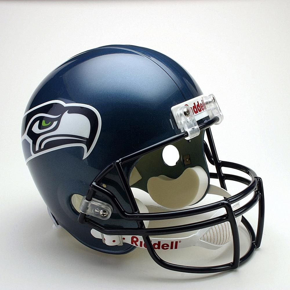 6bed8a0c724 Riddell Seattle Seahawks Full Size Replica Helmet