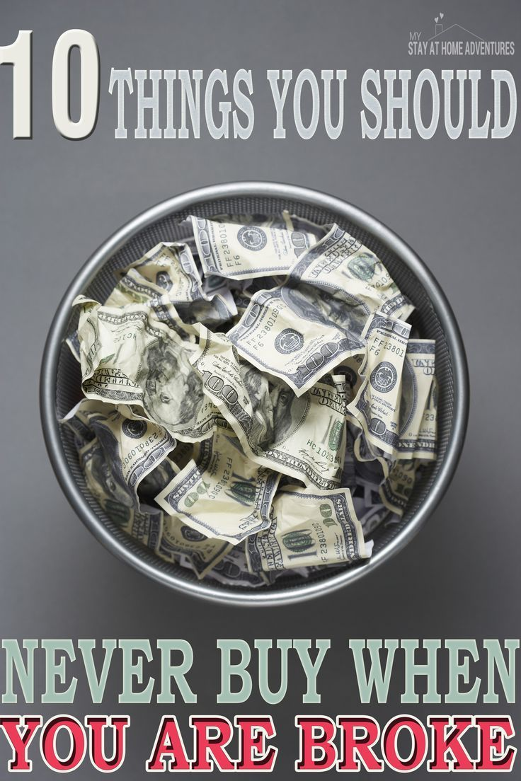 10 Things You Shouldnt Buy When Struggling Financially Saving Money Money Problems Money