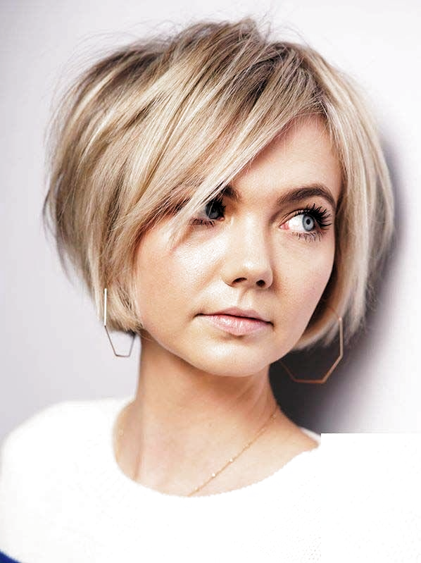 Klassische Kurze Bob Frisuren Fur Frauen Im Jahr 2020 Bobfrisuren Frauen Fur Jahr Klassisch In 2020 Short Bob Haircuts Bob Haircuts For Women Straight Blonde Hair
