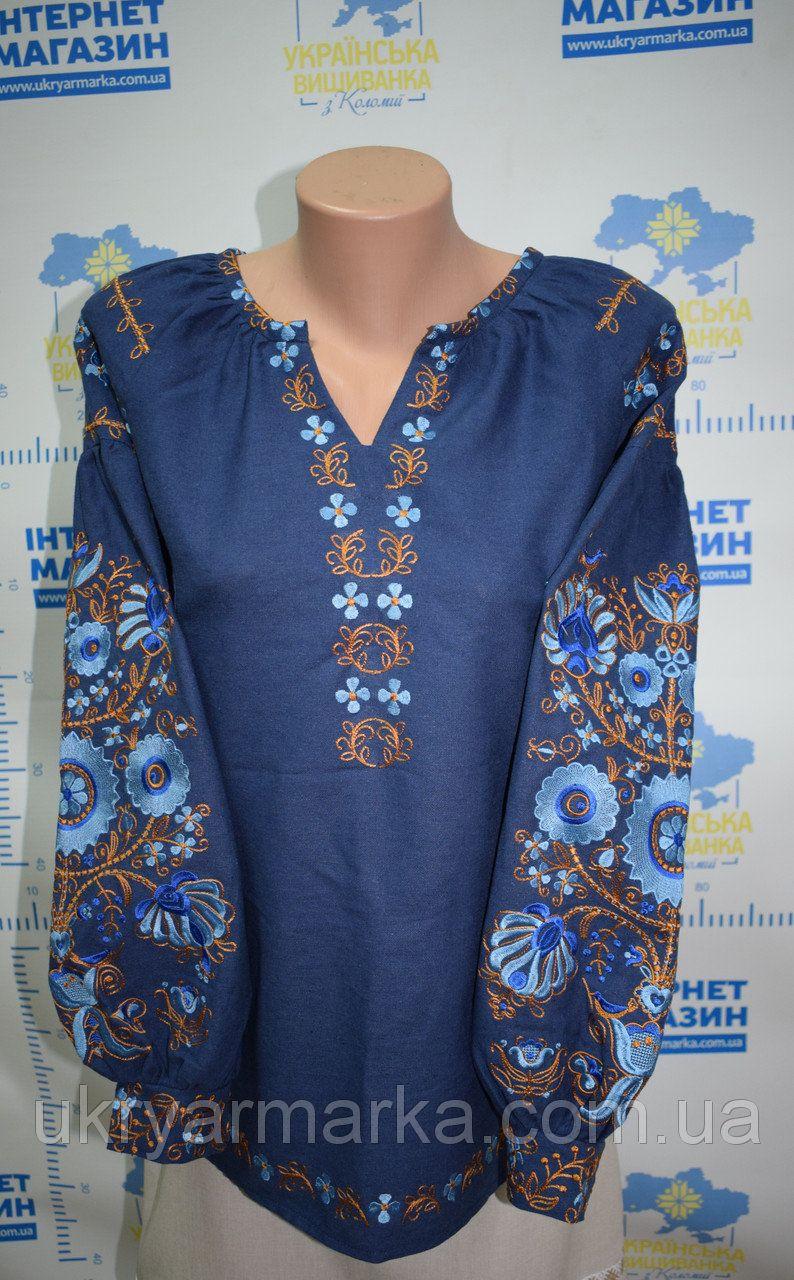 43d77c063ff444 Вишита жіноча блузка