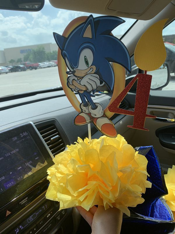 Sonic Hedgehog Centerpiece For Sale In Fort Worth Tx In