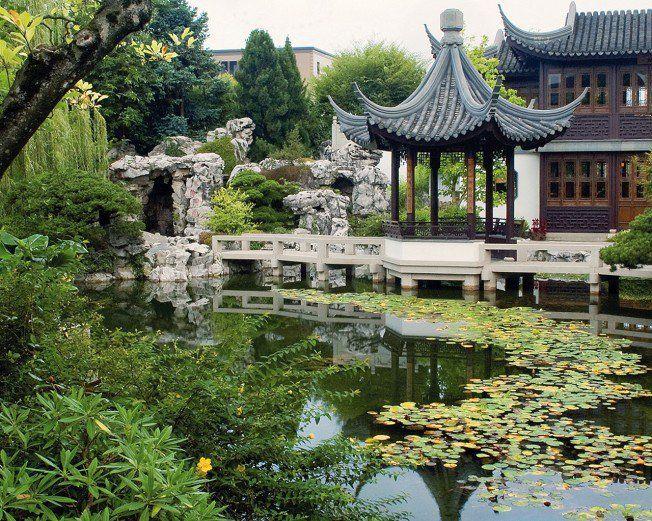 Lan Su Chinese Garden jgo garden Pinterest Chinese garden - chinesischer garten brucke