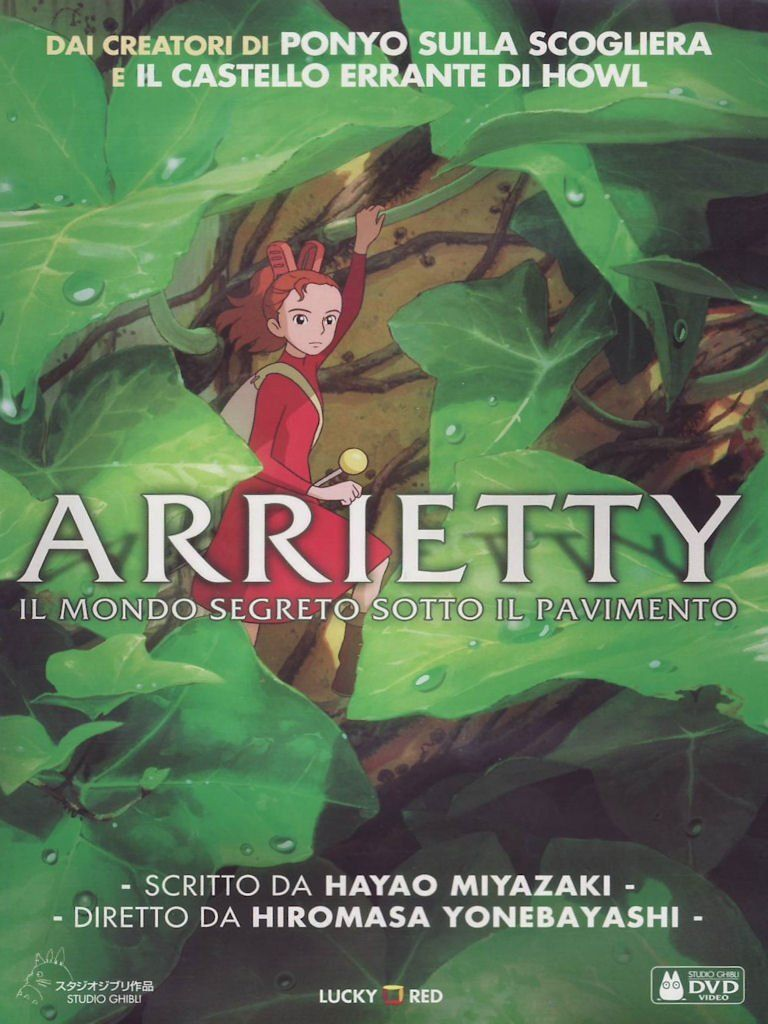 Arrietty Il Mondo Segreto Sotto Il Pavimento Italia Dvd Mondo Segreto Arrietty Il Compras Dvd