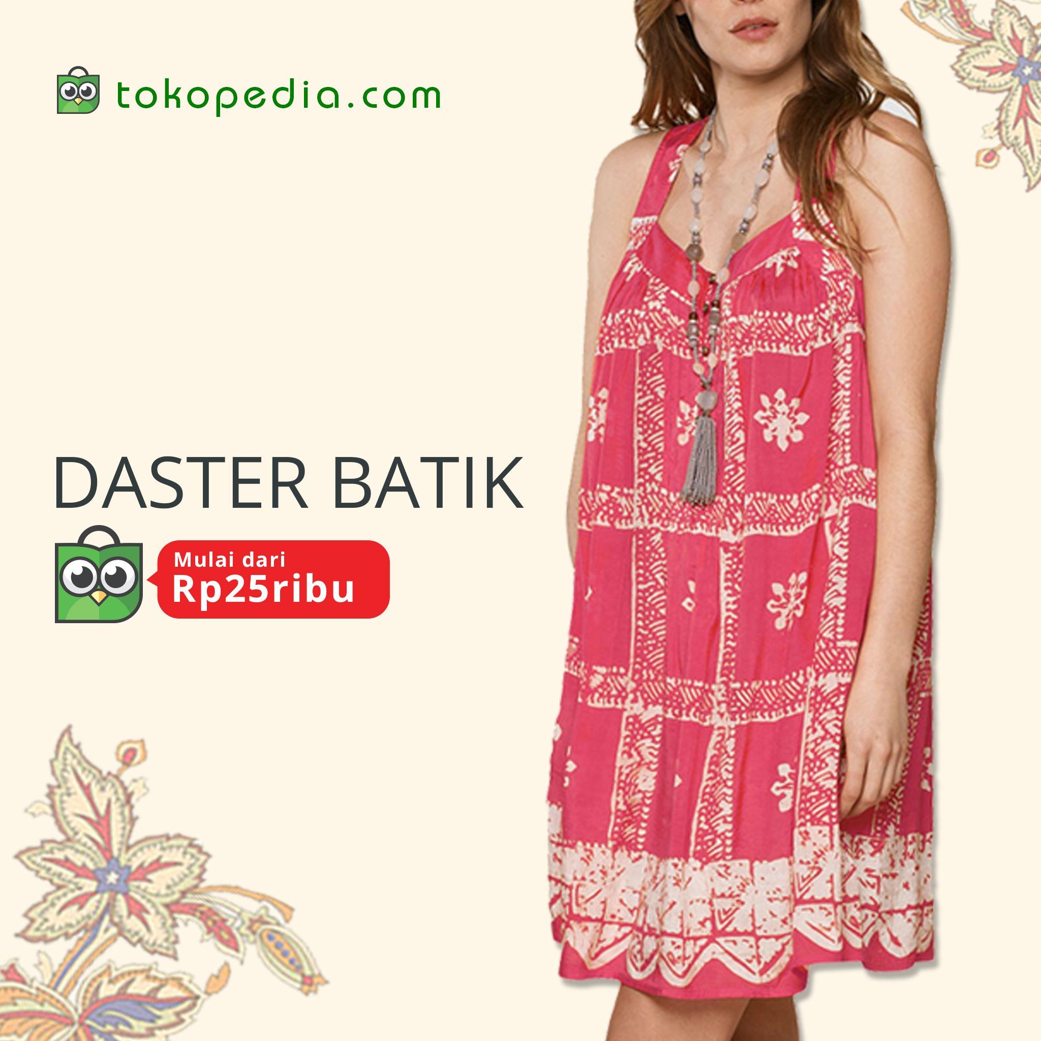 Saya menjual Daster batik solo moroko seharga Rp35000 Dapatkan