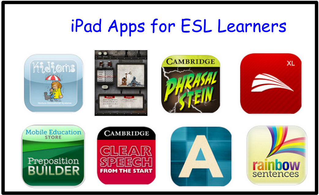 10 Great iPad Apps for Learning English Mobile learning