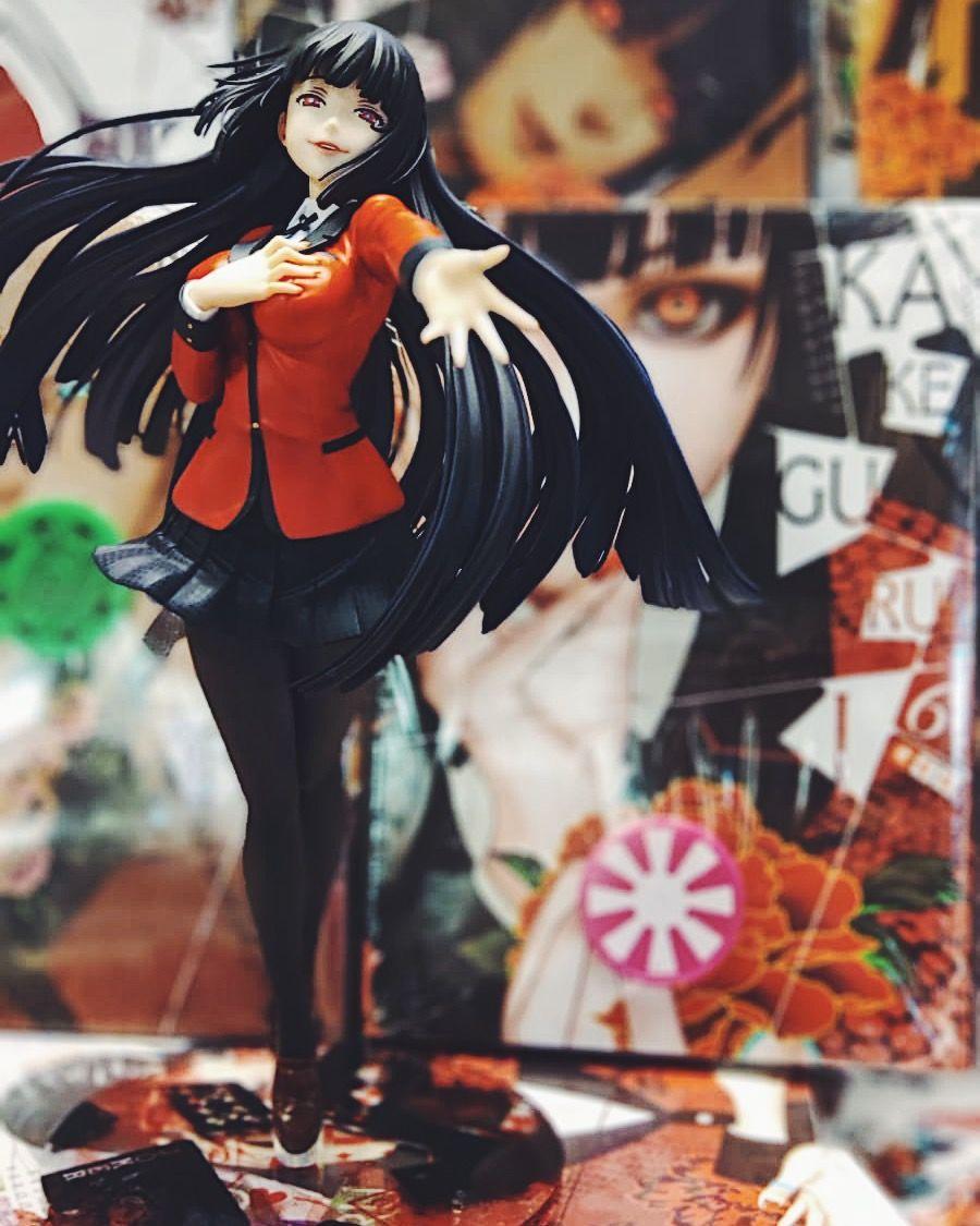 Figura De Yumeko Jabami De Kotobukiya Yumeko Jabami Figuras De Anime Animes Yandere