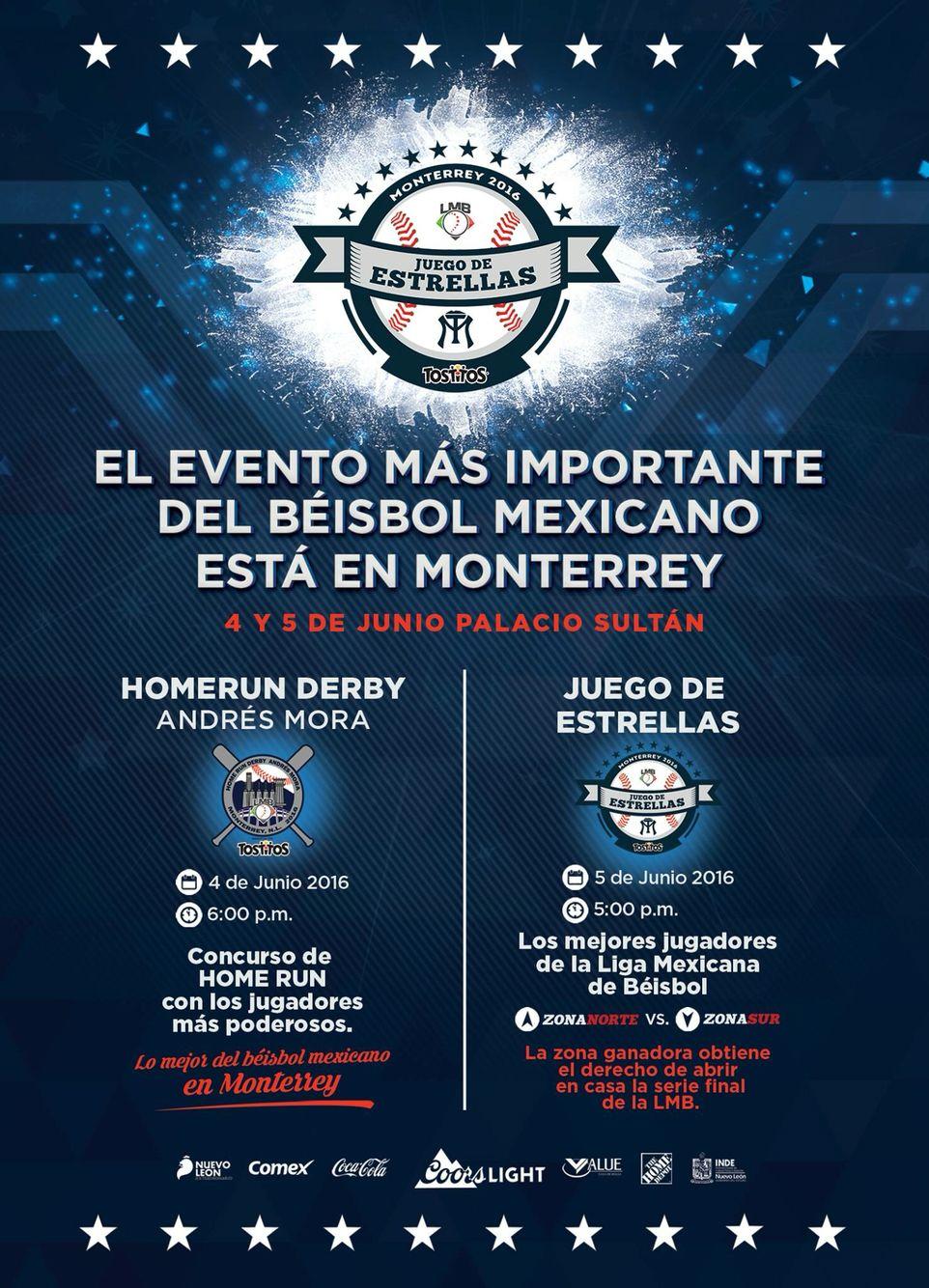 Este 4 Y 5 De Junio El Palaciosultan Esta De Fiesta Home Run Derby 6 Pm Juego De Estrellas 5 Pm Je16lmb Derby Estrellas Beisbol Mexicano