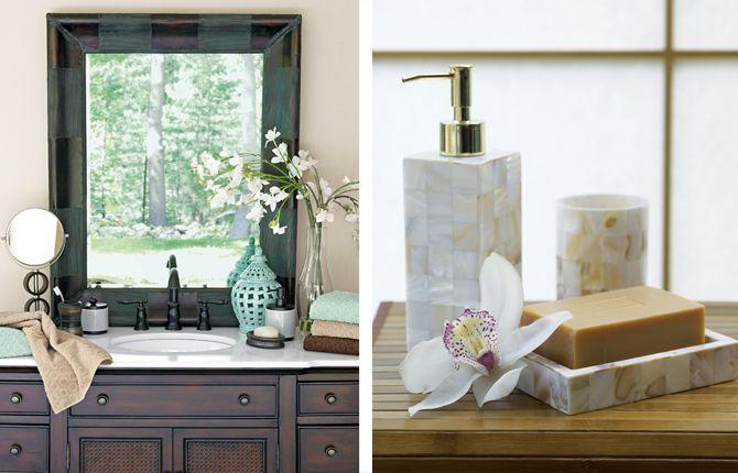 Zen Bathroom Decor, Home
