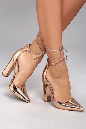 3a9f9a3c357 Trendy Block Heels and Chunky Heels at Lulus.com