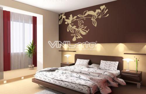 Vinilos decorativos clasicos hogar dormitorios - Vinilos decorativos dormitorio ...
