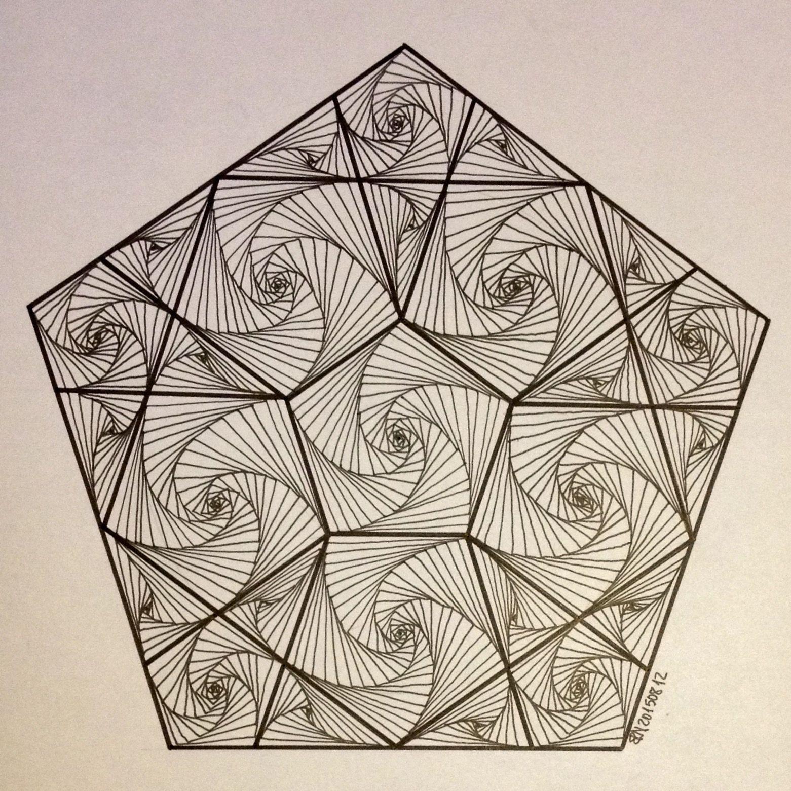Line Design Art Math : Hexagon geometry symmetry pattern evolution string
