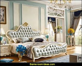Luxury Bedroom Designs Marie Antoinette Style Theme Decorating