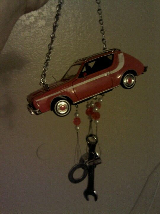 Windchime Made From Recycled Model Car Tools Nuts And Bolts We