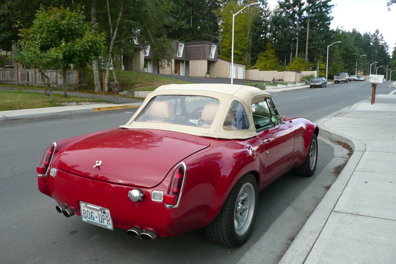 1970 MG MGB custom...V8? Coches