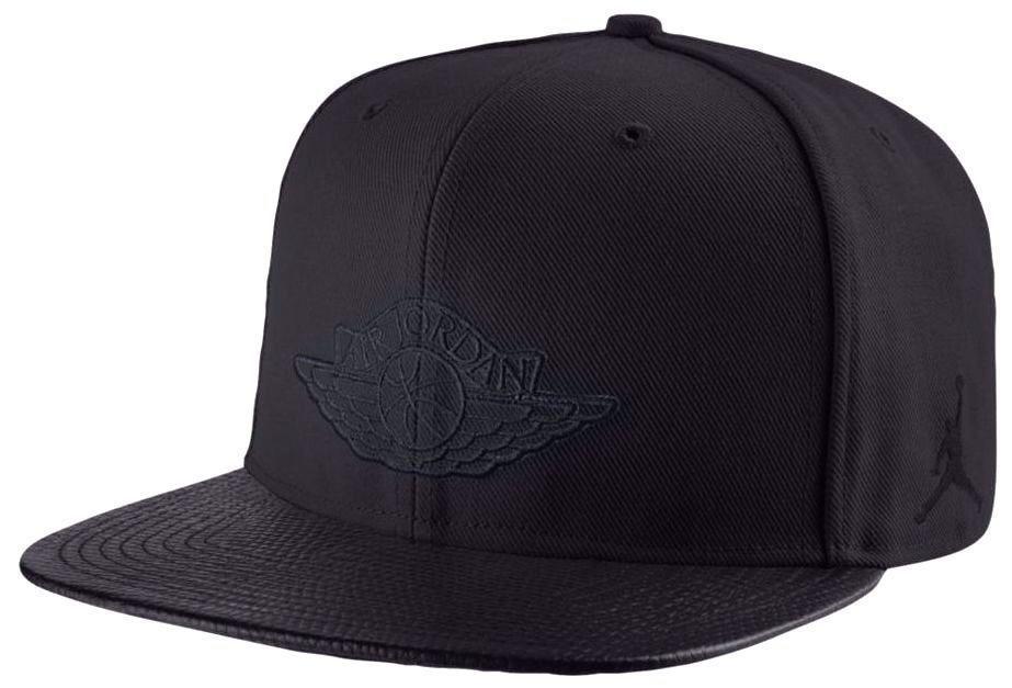 1c4fdbd0 Nike Air Jordan II 2 Retro Snapback Cap Hat Adult Black Black 724891-010  NEW #Nike #FlatBill
