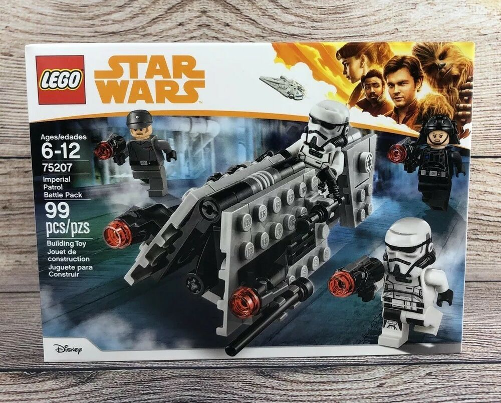 75207 Lego Star Wars Imperial Patrol Battle Pack New//Factory Sealed