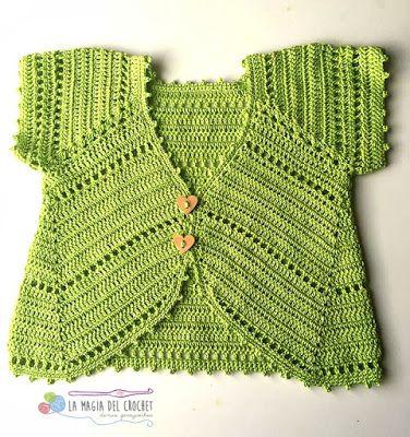 La Magia del Crochet: TORERAS O BOLEROS A CROCHET.tejido peru video ...