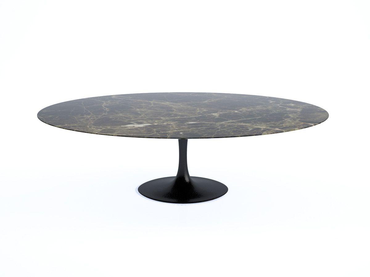 knoll saarinen tulip large dining table oval dinning table mid