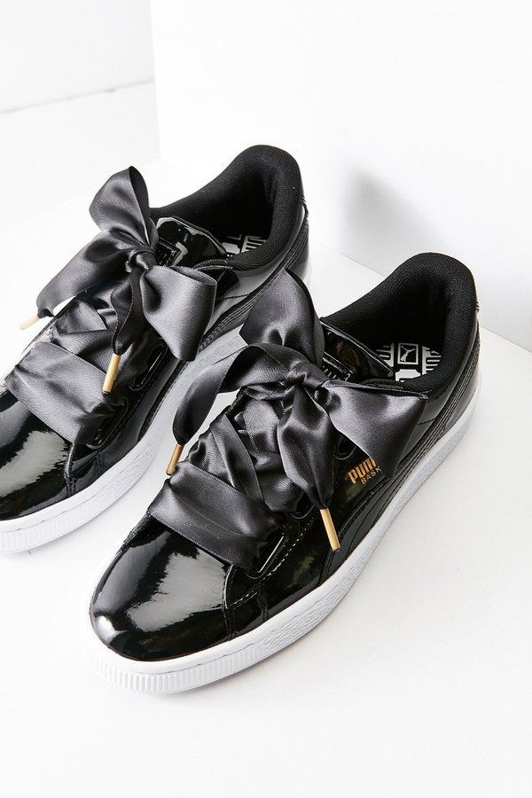 909949ca42a Basket Heart Patent Leather Sneaker by Puma on ShopStyle.